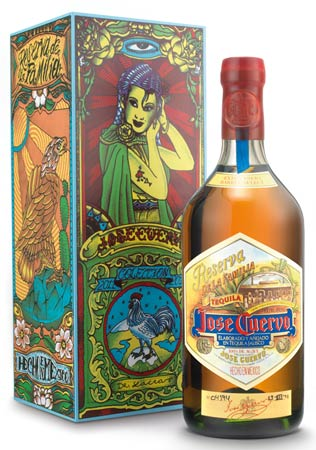 Jose Cuervo Reserva de la Familia, 2011 packaging