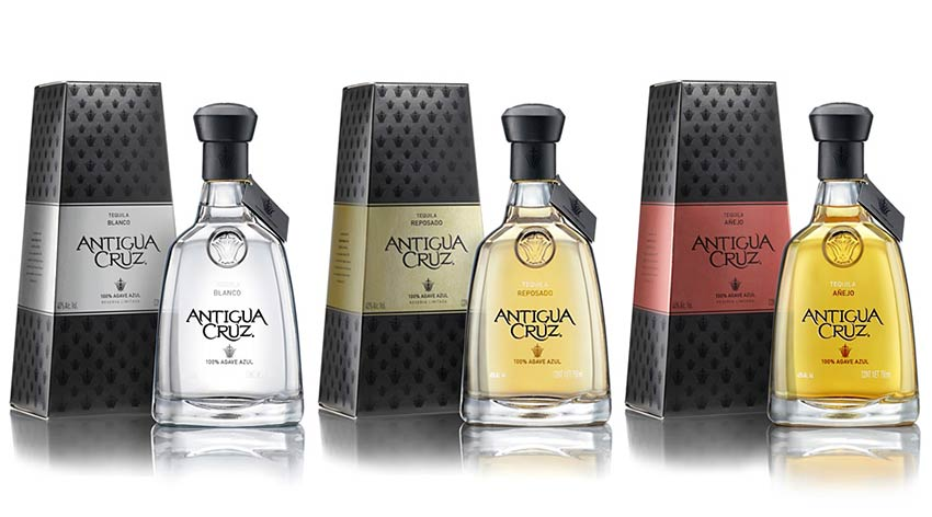 Antiqua Cruz Tequila New Packaging Tequila Source