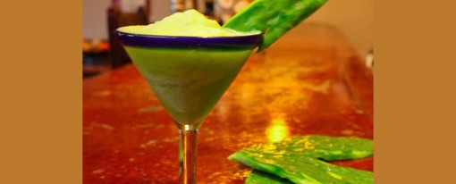 Healthy Nopal Margarita