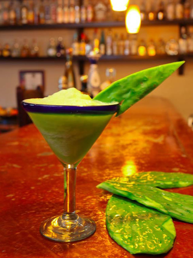 Healthy Nopal Margarita at  Habanero's Gastro Grill and Tequila Bar