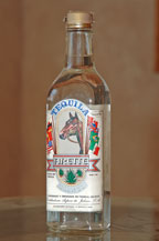 arette blanco tequila - early label - El Llano Collection