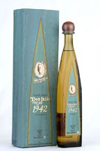 don julio tequila 1942 añejo with cardboard box
