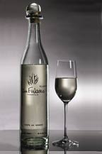 Don Fulano Tequila - Fuerte Blanco - bottle with glass - 2011