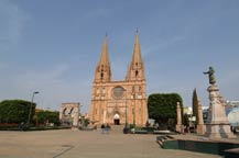 church in arandas, jalisco, mexico