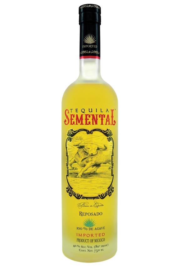 Tequila Semental 100 Percent Blue Agave Tequila